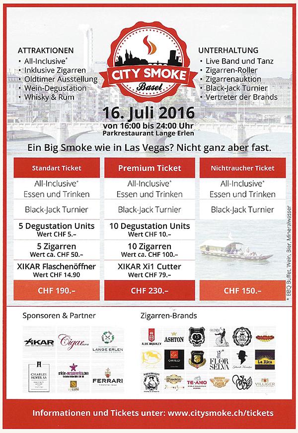 Big Smoke - City Smoke Basel